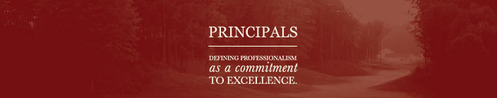 Pinnacle Development Group Principals : Defining professionalism as a commitment to excellence.
